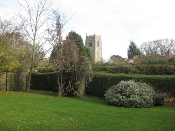 View of St. Mary's Church from Emily Cottage