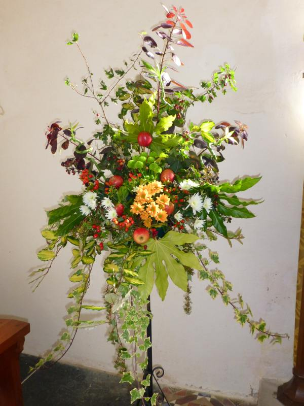 Hnts Church Flowers Harvest Festival 2012